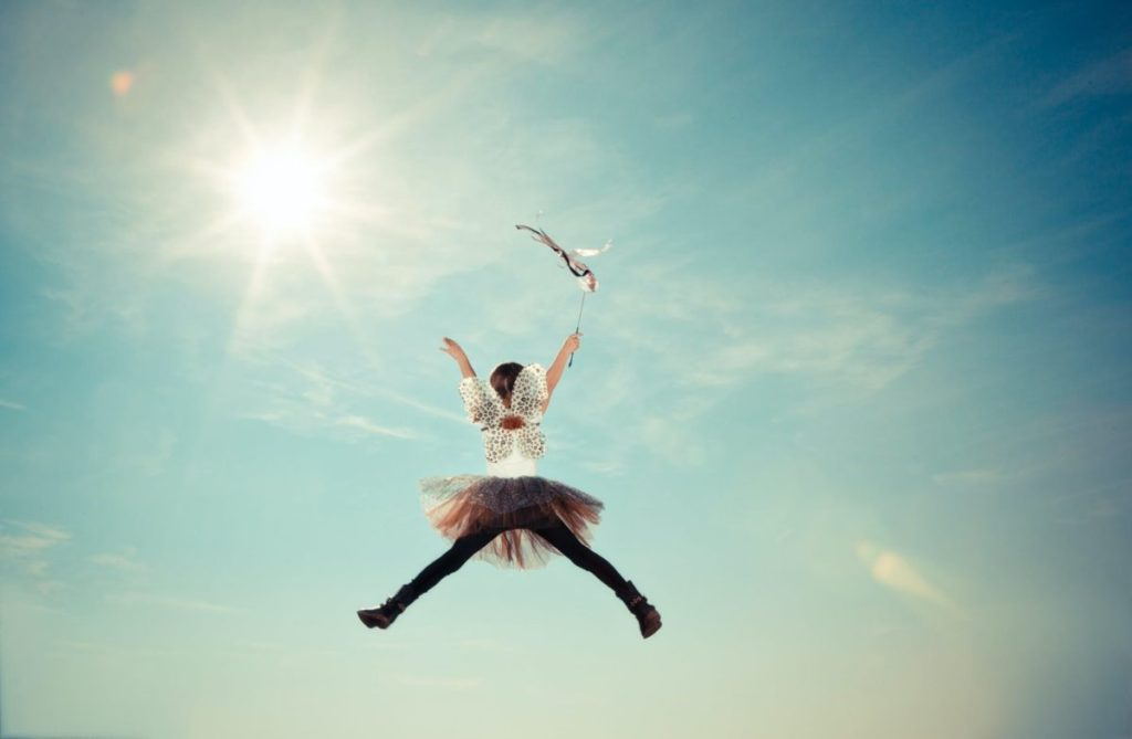 person jumping photo